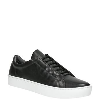 Damskie skórzane buty sportowe vagabond, czarny, 624-6019 - 13
