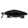 Skórzana torba męska typu crossbody bata, brązowy, 964-4230 - 15