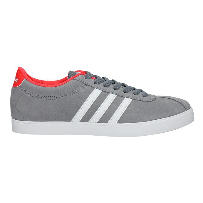 Szare trampki damskie adidas, szary, 503-2976 - 15