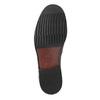 Skórzane męskie buty typu Loafers bata, czarny, 814-6621 - 26