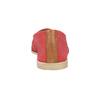Czerwone slip-on ze skóry bata, czerwony, 516-5602 - 17