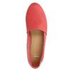 Czerwone slip-on ze skóry bata, czerwony, 516-5602 - 19