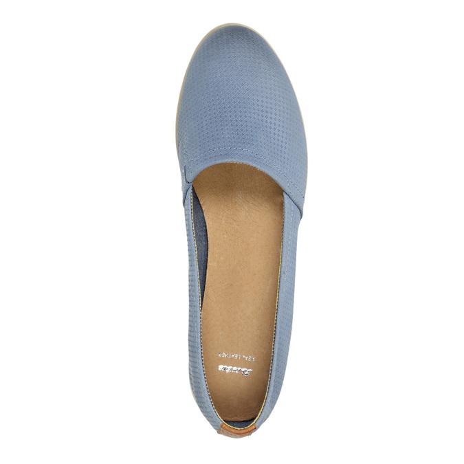 Damskie buty wstylu Slip-on bata, niebieski, 516-9602 - 19
