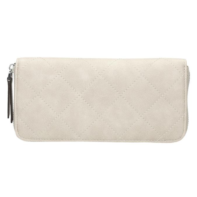 Pikowany portfel damski bata, beżowy, 941-8146 - 19