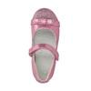 Różowe baleriny zpaskiem na podbiciu mini-b, różowy, 221-5179 - 19