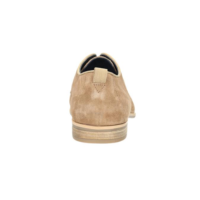 Skórzane półbuty na co dzień bata, brązowy, 823-3602 - 17