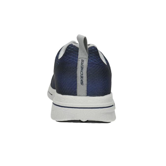Trampki męskie zpianką zpamięcią skechers, niebieski, 809-9141 - 17