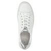 Białe trampki ze skóry gabor, biały, 626-1204 - 19