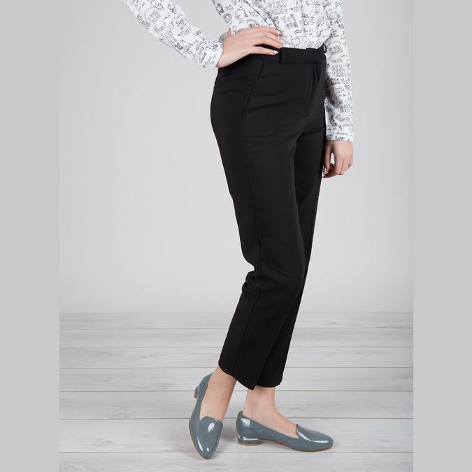 Skórzane damskie buty w stylu Loafers bata, niebieski, 518-9600 - 18