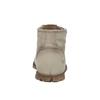 Skórzane botki zczerwonym suwakiem weinbrenner, brązowy, 596-8654 - 17