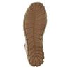Skórzane botki zczerwonym suwakiem weinbrenner, brązowy, 596-8654 - 26