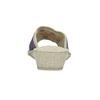 Kapcie damskie na koturnach bata, fioletowy, 679-5620 - 17
