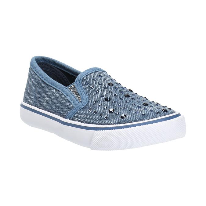 Obuwie dziecięce typu slip-on north-star, niebieski, 229-9193 - 13