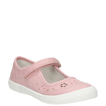 Różowe obuwie dziewczęce mini-b, różowy, 221-5604 - 13