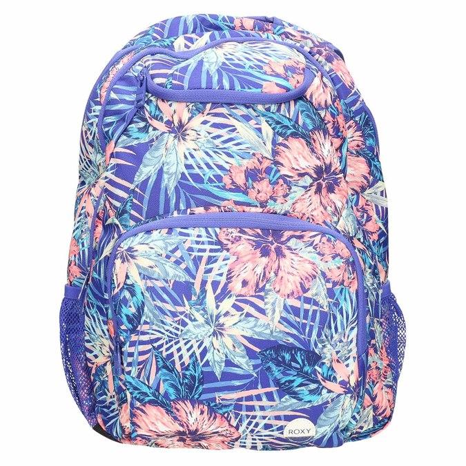 Plecak wkolorowy deseń roxy, fioletowy, 969-9071 - 19