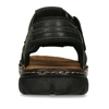 Letnie zamszowe sandały męskie bata, brązowy, 866-4610 - 15