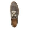 Skórzane półbuty na wyrazistej podeszwie weinbrenner, brązowy, 823-4607 - 19