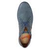 Skórzane buty za kostkę bugatti, niebieski, 846-9635 - 19