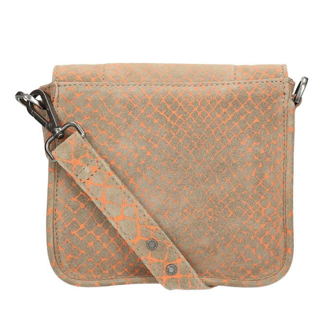Skórzana torba damska typu crossbody fredsbruder, brązowy, 963-8032 - 26