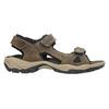 Skórzane sandały męskie weinbrenner, brązowy, 866-3630 - 15