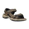Skórzane sandały męskie weinbrenner, brązowy, 866-3630 - 13