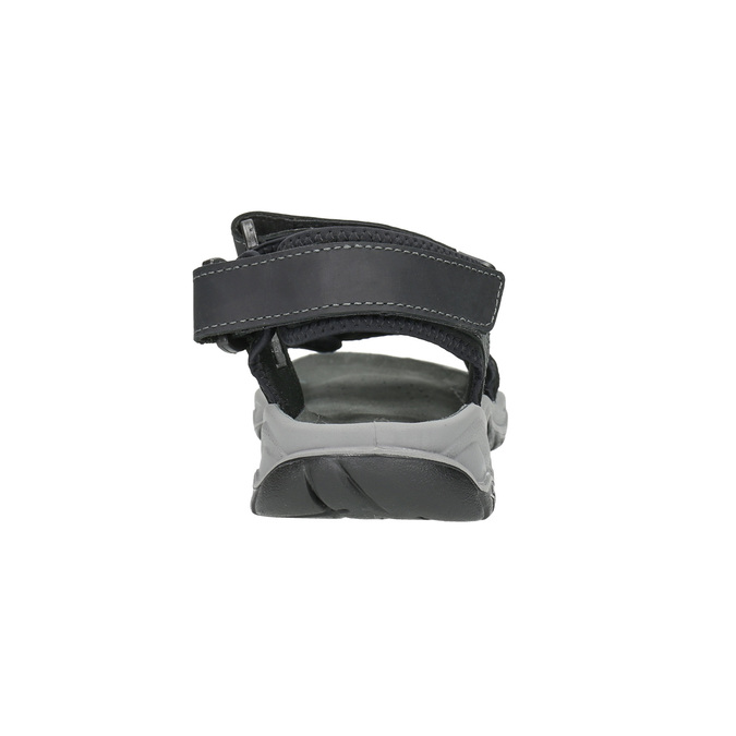 Skórzane sandały męskie weinbrenner, czarny, 866-6630 - 17