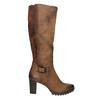 Kozaki damskie bata, brązowy, 796-4601 - 15