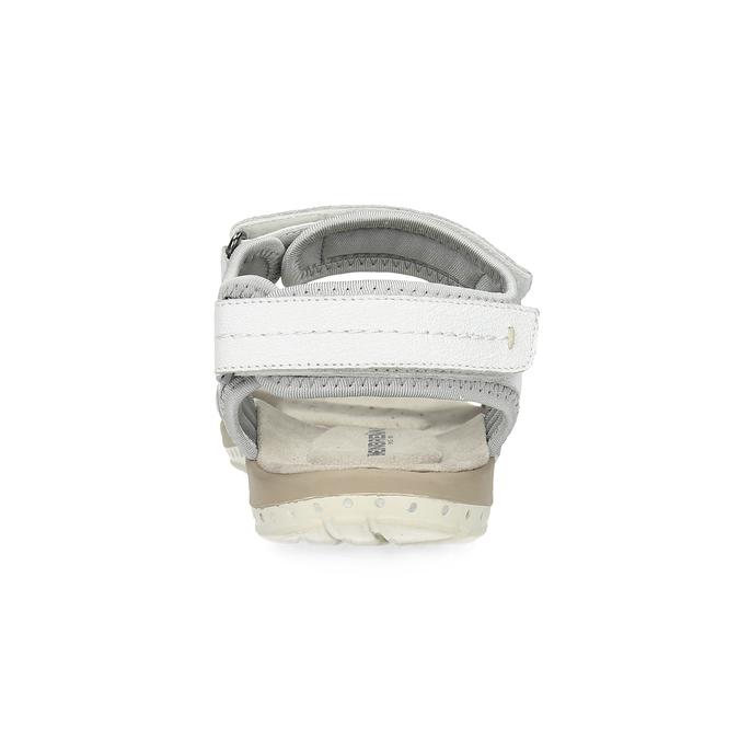 Skórzane sandały damskie wstylu outdoor weinbrenner, biały, 566-1608 - 15