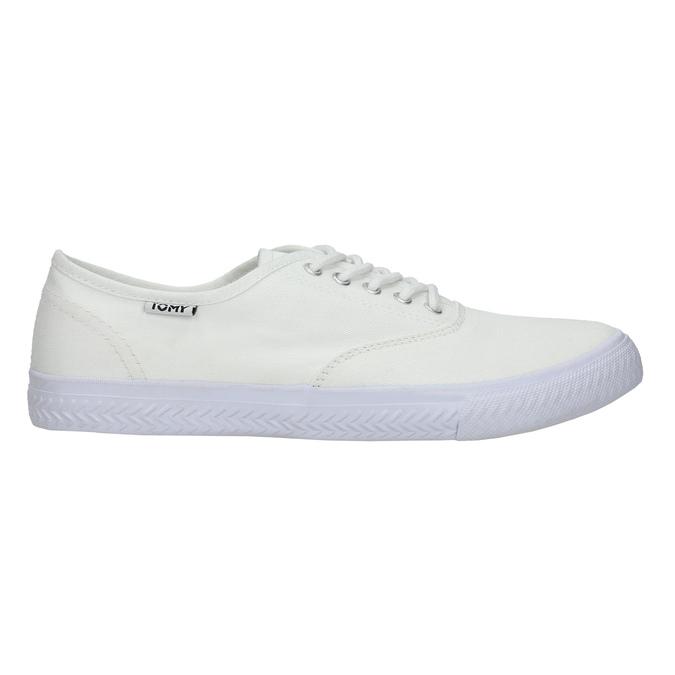 Białe nieformalne trampki tomy-takkies, biały, 889-1227 - 15