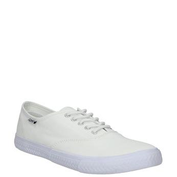 Białe nieformalne trampki tomy-takkies, biały, 889-1227 - 13