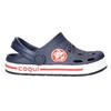 Granatowe sandały dziecięce coqui, niebieski, 272-9603 - 15