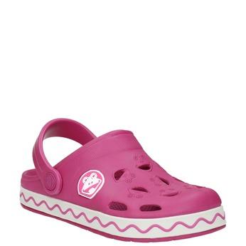 Różowe sandały dziewczęce coqui, różowy, 272-5602 - 13