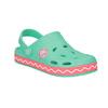 Sandały dziewczęce zżabką coqui, zielony, 272-7602 - 13
