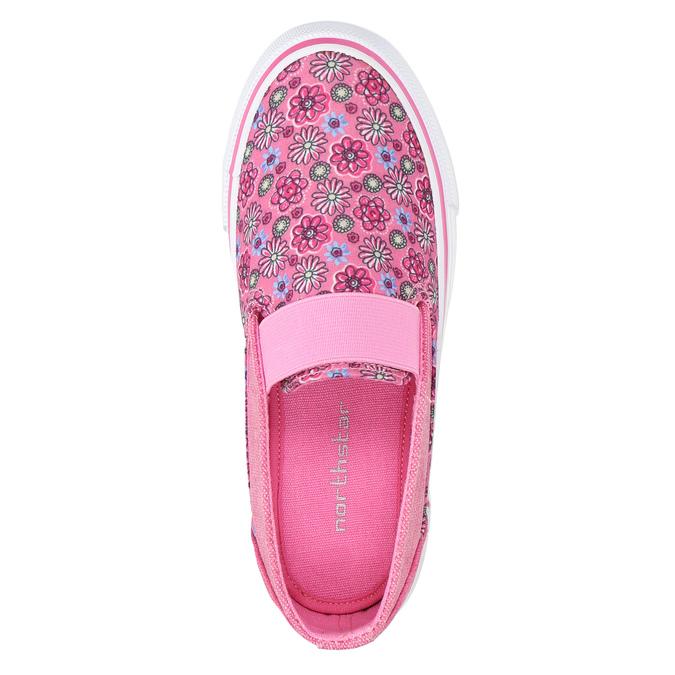 Wzorzyste slip-on dziewczęce mini-b, różowy, 329-5611 - 19