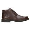 Skórzane buty za kostkę fluchos, brązowy, 824-4450 - 15
