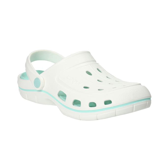 Białe sandały damskie coqui, biały, 572-1606 - 13
