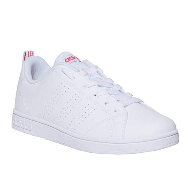 Białe trampki dziecięce adidas, biały, 401-5133 - 13