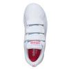 Trampki dziewczęce na rzepy adidas, biały, 301-1268 - 19