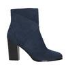 Granatowe kozaki damskie bata, niebieski, 799-9615 - 15