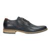 Nieformalne półbuty ze skóry bata, niebieski, 826-9910 - 15