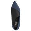 Czółenka damskie na szpilkach insolia, niebieski, 729-9608 - 19