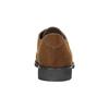Brązowe półbuty damskie zprzeszyciami bata, brązowy, 529-4632 - 17