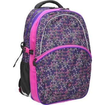 Plecak szkolny bagmaster, fioletowy, 969-5648 - 13