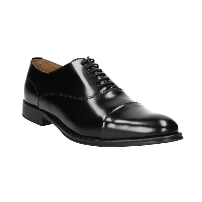Czarne skórzane półbuty typu oksfordy bata, czarny, 826-6671 - 13