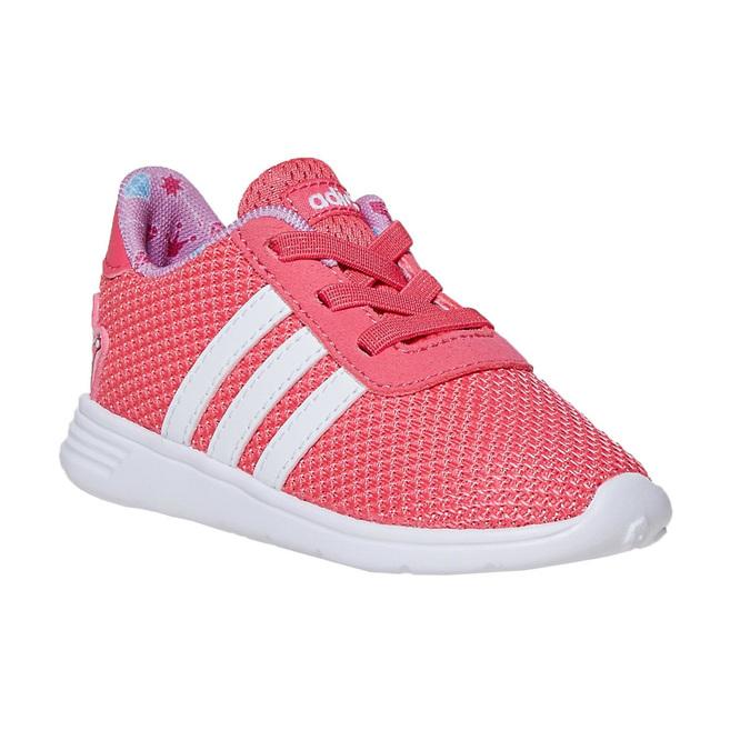 Różowe trampki dziewczęce adidas, różowy, 109-5288 - 13