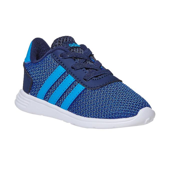 Granatowe trampki chłopięce adidas, niebieski, 109-9288 - 13