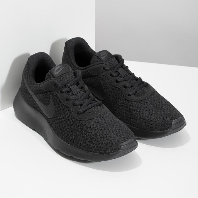 Czarne trampki męskie wsportowym stylu nike, czarny, 809-0557 - 26