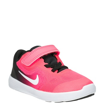 Różowe trampki dziewczęce nike, różowy, 109-5132 - 13