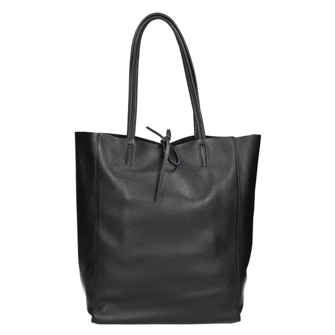 Skórzana torba wstylu shopper bata, czarny, 964-6122 - 26