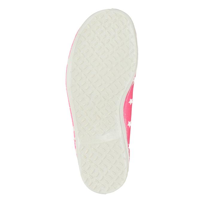 Dziecięce balerinki w gwiazdki bata, różowy, 379-5217 - 17